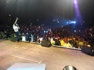 Konshens thrilling fans in Uganda