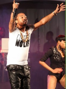 Machel Montano delivered his major performance for 2013 at Fantasy's Savage Saturday event