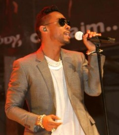 R&B singer Miguel croons at the St. Maarten Carnival village